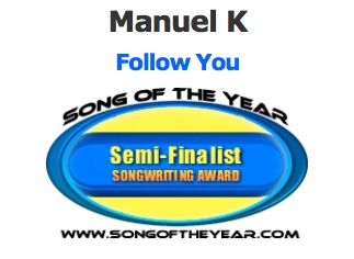2016_Manuel-K_SongOfTheYear_SongwritingContest_FollowYou