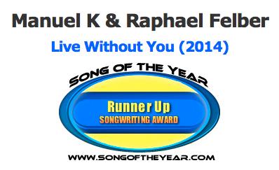2014_Manuel-K_SongOfTheYear_SongwritingContest_LiveWithoutYou_2